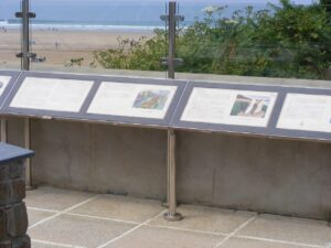 Dymond Metalwork in Woolacombe Display2