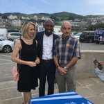 Mike & Sue of Dymond Engineering attend Woolacombe & Mortehoe Visitor Display opening