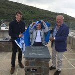 Unveiling at the Woolacombe & Mortehoe Display Opening, attended by Dymond Engineering