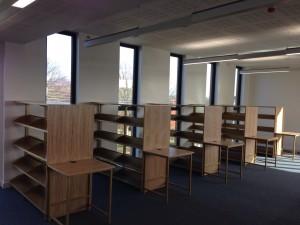 Library Desks & Shelves