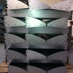 Fabricated metal components