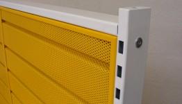 EPC Powder Coated Yellow and White