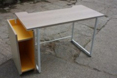 Metal Frame and Legs for Bespoke Office Desk