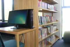 Braunton Academy Library Shelves