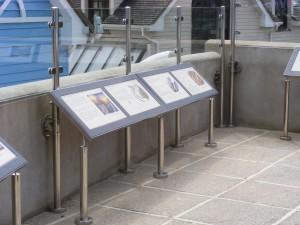 Dymond Engineering Metalwork in Woolacombe Display