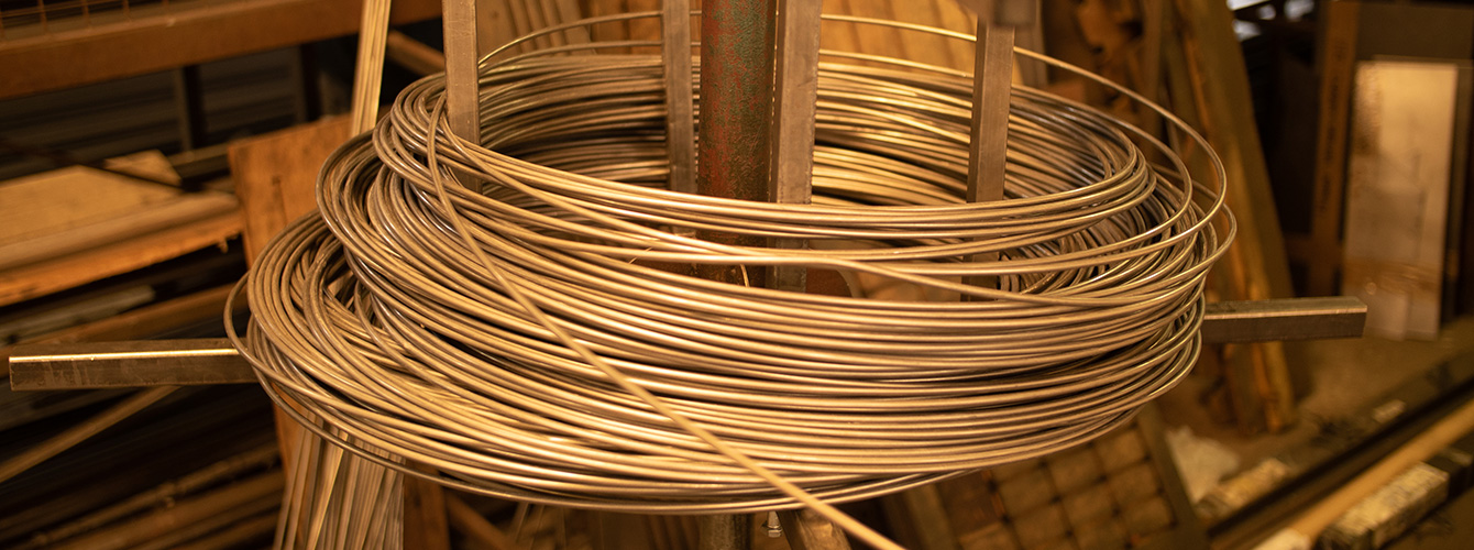 Dymond Engineering; wire bending from coil