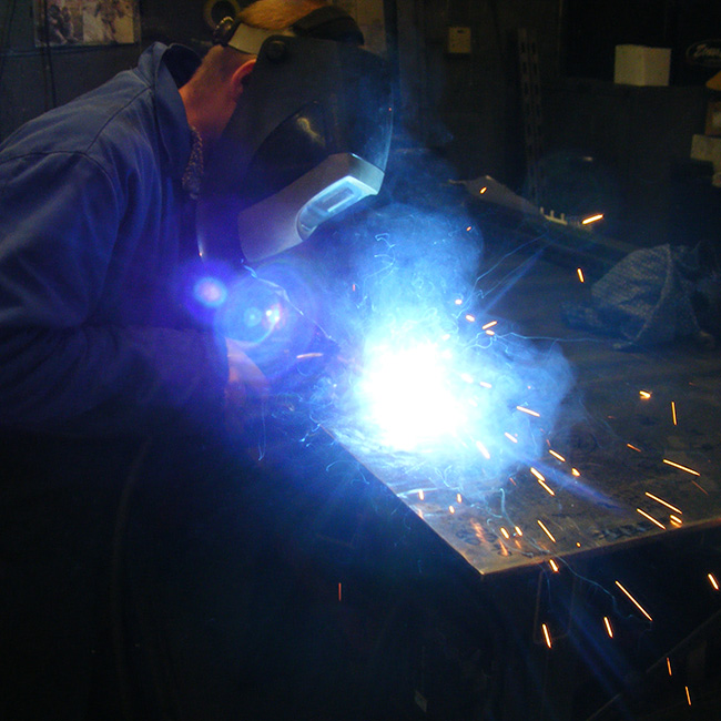 Dymond Engineering - MIG Welding
