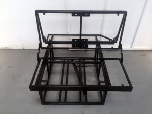 Rock and Roll Bed frame for campervan conversions