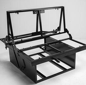 Camper Van Bed Frame Metal