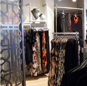 Metal Retail Shopfittings