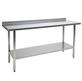 Stainless Steel Kitchen Table for Takeaways and restaurants 2