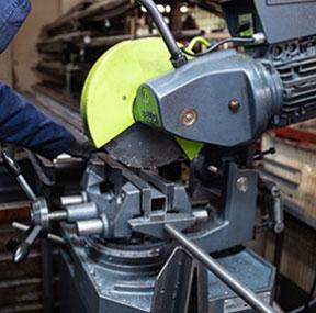 Metal Product Fabrication equipment - saw