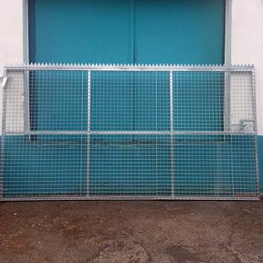Heavy Duty Galvanised Gate